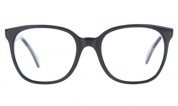 Cutler & Gross Large Black Glasses Frame Geek