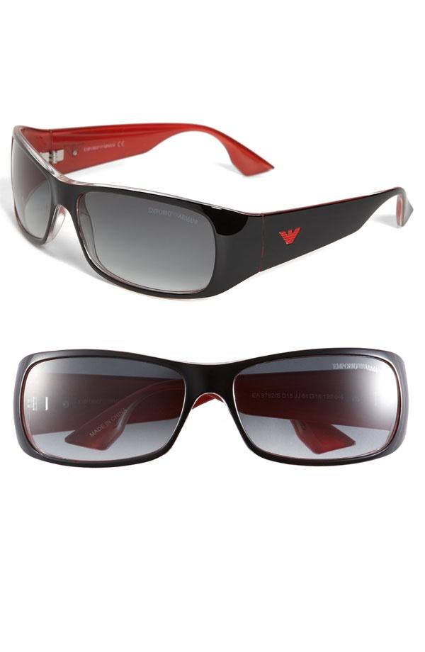 Emporio Armani Wrap Sunglasses Emporio Armani Wrap Sunglasses