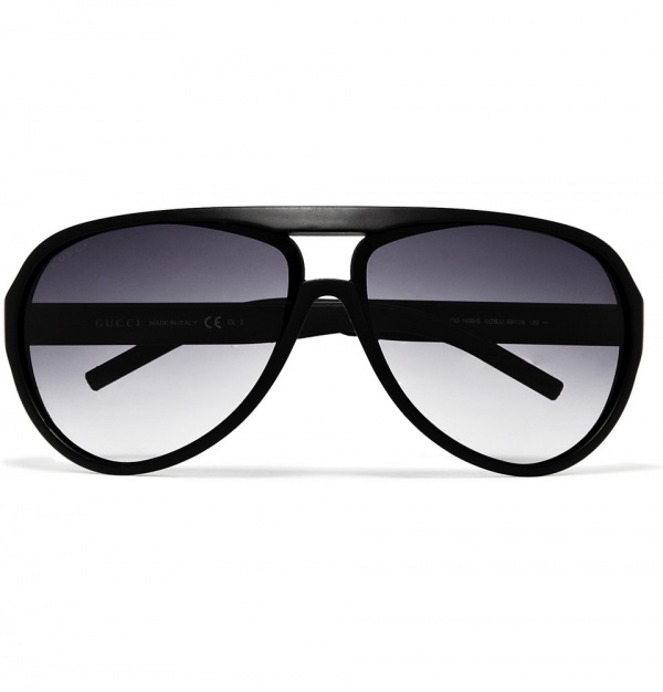 Gucci Black Acetate Aviators Gucci Black Acetate Aviators