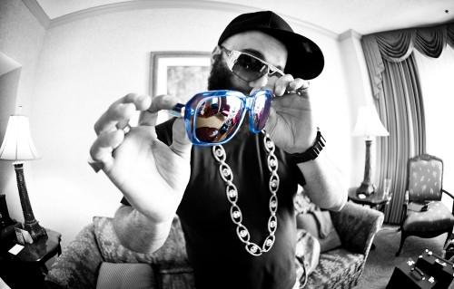 Corey shapiro vintage frames company custom cee lo sunglasses 500x319 Vintage Frame Company X Cee Lo Green