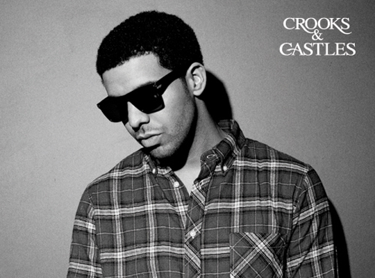 Drake for Crooks & Castles' Summer 2011 Eyewear Collection