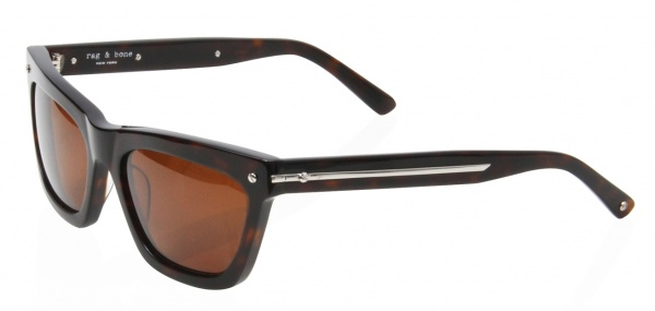 Rag Bone Vespa Sunglasses in Tortoise Rag & Bone Vespa Sunglasses In Tortoise