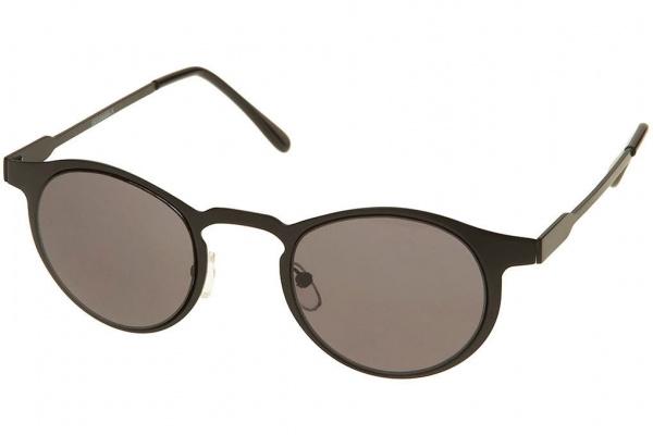 Topman Sunglasses  topman black flat metal sunglasses frame geek