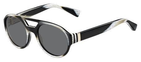 Yves Saint Laurent Round Frame Sunglasses In Dark Horn Yves Saint Laurent Round Frame Sunglasses In Dark Horn