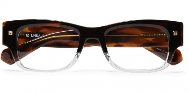 Linda Farrow Luxe Half Clear Optical Linda Farrow Luxe Half Clear Optical