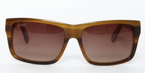 9Five Caps Brown 9Five Cap Two Tone Sunglasses