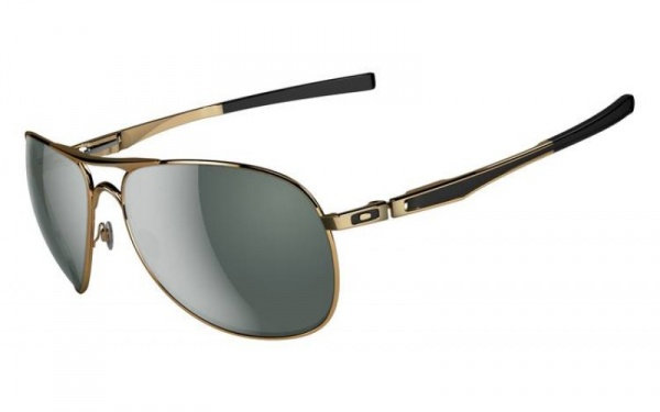 oakleyplantiffgold Oakley Plantiff Polished Gold