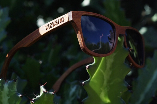 Kicks/Hi x Shwood 10th Anniversary Koa Wood Canby Sunglasses
