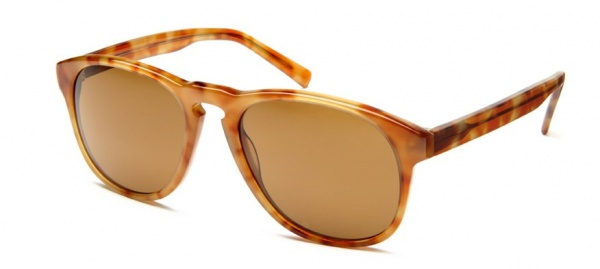 griffin sunglasses blonde tortoise angle 2 Warby Parker Griffin Sunglasses