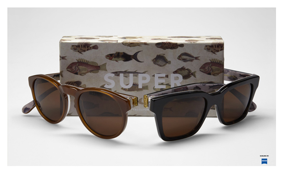 super sunglasses poissons SUPER Spring 2012 Visiva Series Poissons