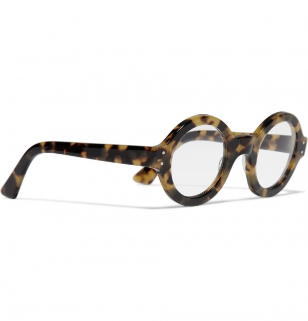 176329 mrp fr xl Selima Optique Round Framed Tortoiseshell Glasses