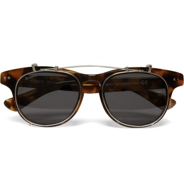 311333 mrp in xl Illesteva Lenox Detachable Front Square Frame Sunglasses