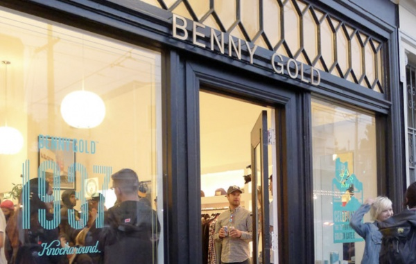 Benny Gold And Knockaround Celebrate the 75th Anniversary of the Golden Gate Bridge Benny Gold x Knockaround 1937 Sunglasses