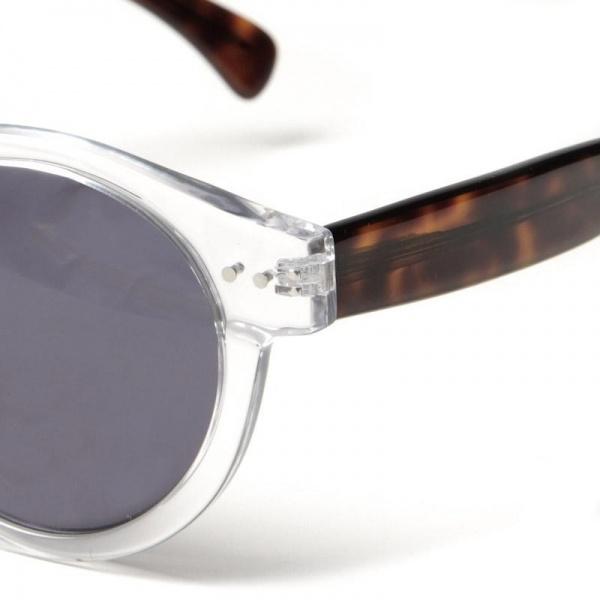 29 08 2012 illesteva leonard clearhavana d1 Illesteva Leonard Sunglasses in Clear/Havana