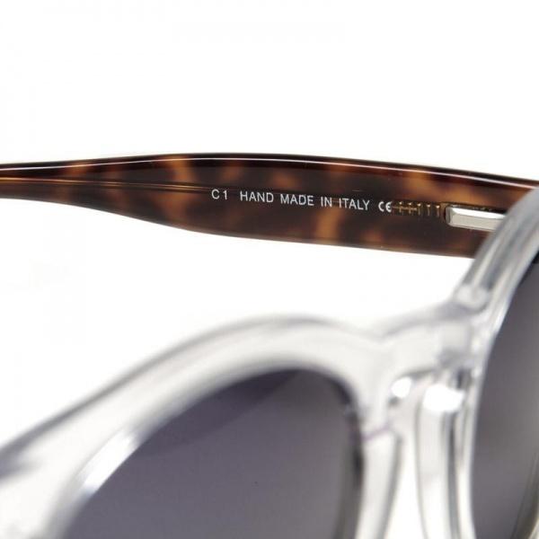 29 08 2012 illesteva leonard clearhavana d2 Illesteva Leonard Sunglasses in Clear/Havana