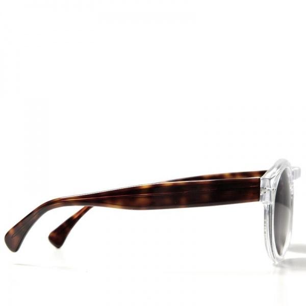 29 08 2012 illesteva leonard clearhavana d3 Illesteva Leonard Sunglasses in Clear/Havana