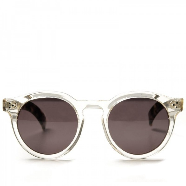 Clear Framed Sunglasses  illesteva leonard sunglasses in clear havana frame geek