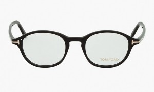 Tom Ford Black Round Optical Frames