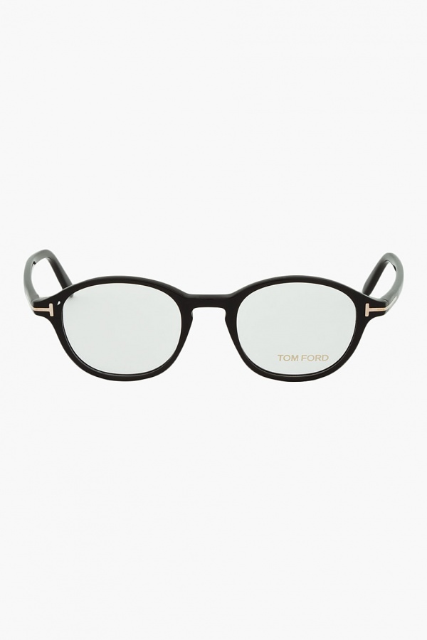 Tom Ford Black Round Optical Frames Tom Ford Black Round Optical Frames