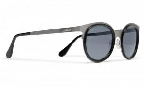 Maison Martin Margiela Round Framed Metal Sunglasses