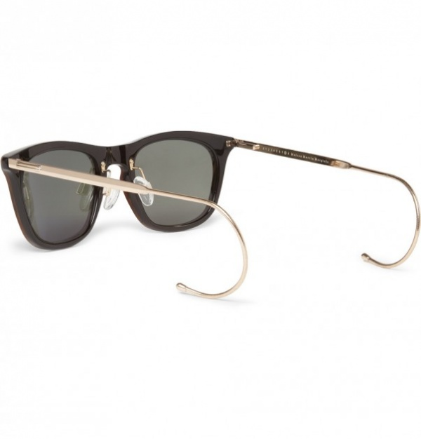 margiela sunglasses 2 603x630 Maison Martin Margiela Marbled Acetate Sunglasses