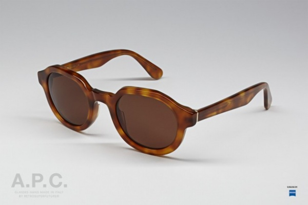 super sunglasses super 2013 04 630x419 Super for A.P.C. 2013 Sunglasses Collection