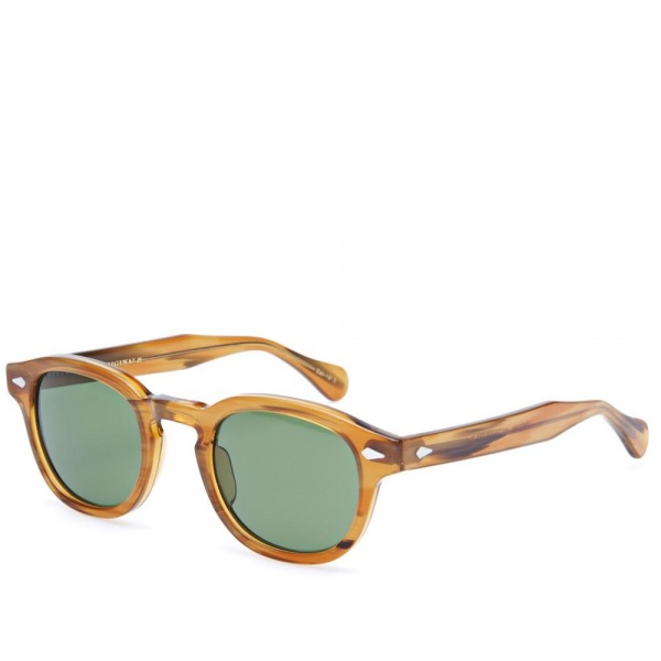 17 04 2013 moscot lemtoshsunglasses blondegreenlenses  Moscot Lemtosh Sunglasses
