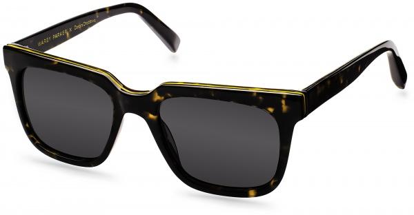 gardner sun whiskey tortoise angle Warby Parker x DonorsChoose Gardner Sunglasses