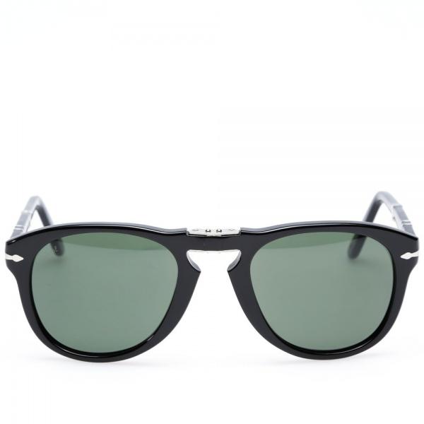 18 11 2013 persol 714foldable black 2 Persol 714 Folding Aviator Sunglasses