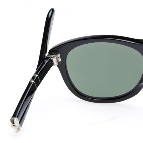 18 11 2013 persol 714foldable black 4 Persol 714 Folding Aviator Sunglasses