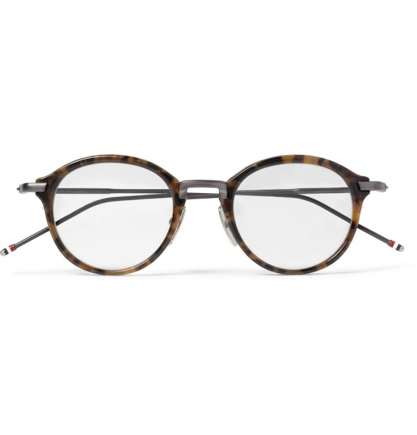 Glasses Frames Modern : Thom Browne Round-Frame Optical Glasses Frame Geek