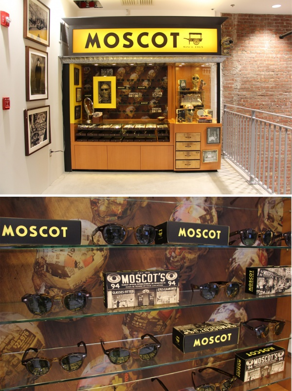Blog Dover Street 2 Moscot at Dover Street Market NYC