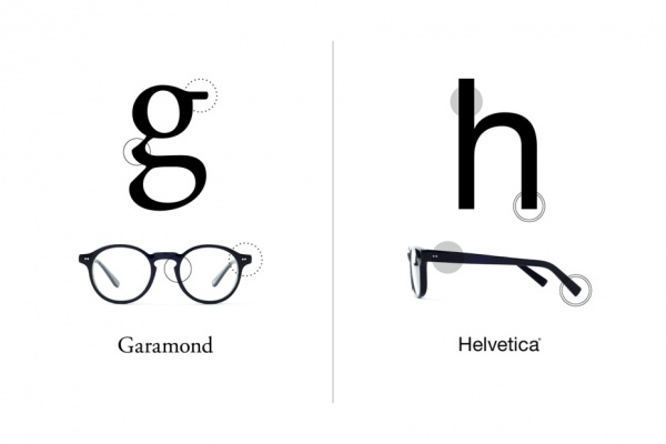 type typefaces inspired glasses collection 1 Type: A Typeface Inspired Collection of Eyewear