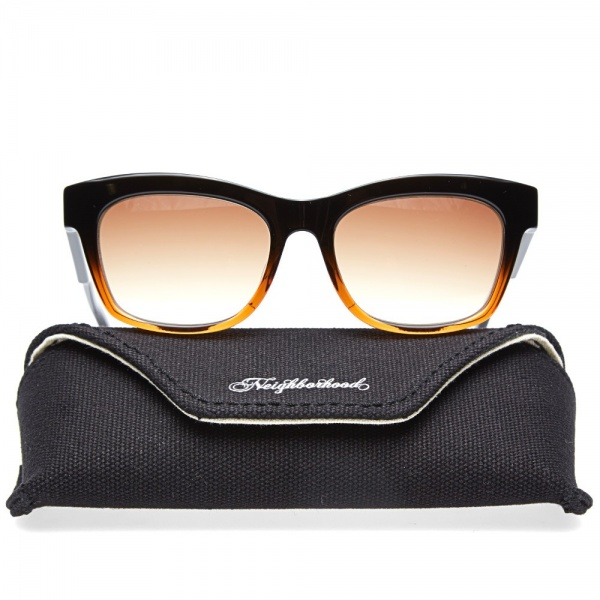 11 04 2014 neighborhood sunglasses black amber 6 Neighborhood Four NC Sunglasses