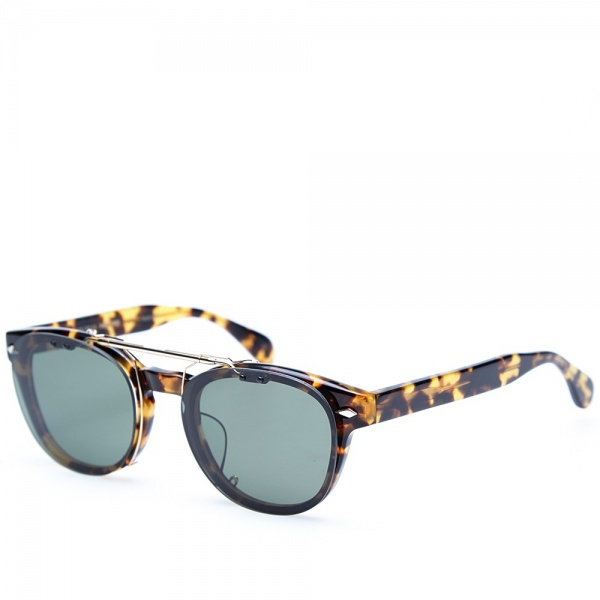 Maison kitsune x oliver peoples tokyo clip sunglasses for Oliver peoples tokyo