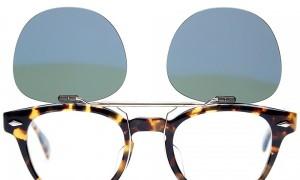 "Maison Kitsune x Oliver Peoples ""Tokyo Clip"" Sunglasses 2"