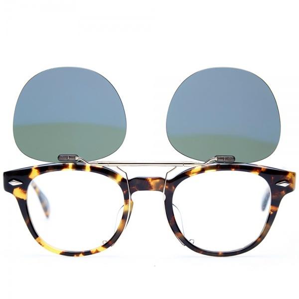 15 05 2014 maisonkitsune oliverpeoplestokyoclipsunglasses darktortoisebrowngreen 3 Maison Kitsune x Oliver Peoples Tokyo Clip Sunglasses