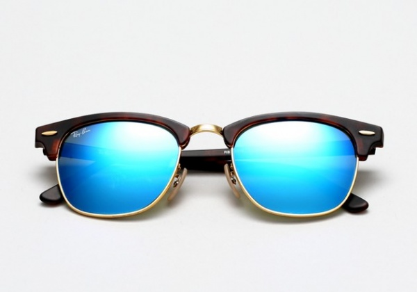 ray ban mirrors summer 2014 13 630x442 Ray Ban Summer 2014 Colored Mirror Clubmaster