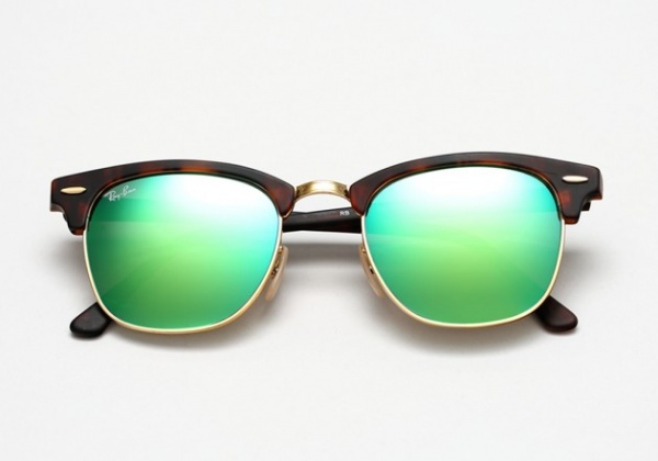 ray ban mirrors summer 2014 14 630x442 Ray Ban Summer 2014 Colored Mirror Clubmaster