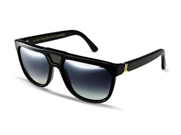 4088d3d7f4602 Super   WeSC Black Sunglasses