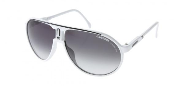 e25967b4b48f Carrera Champion Aviator Sunglasses Carrera Champion Aviator Sunglasses in  White
